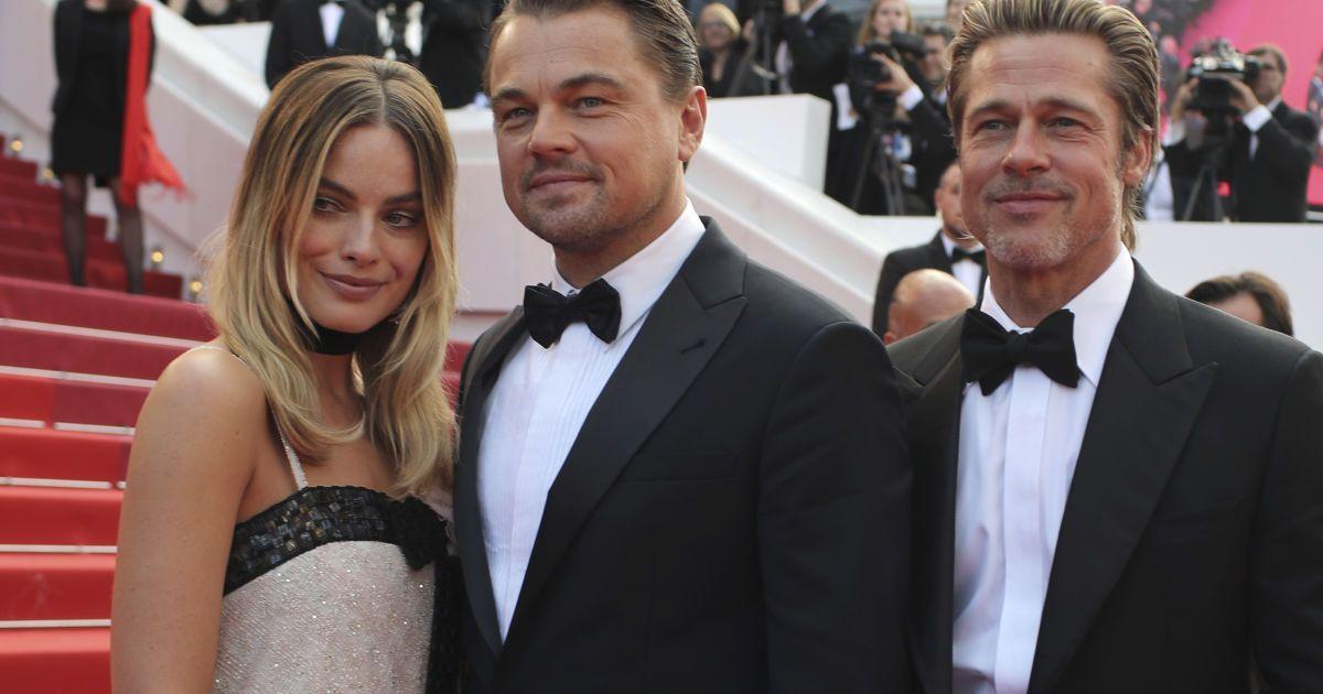 Марго Робби, Леонардо Ди Каприо и Брэд Питт @ Associated Press