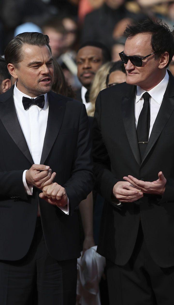 Леонардо Ди Каприо и Квентин Тарантино