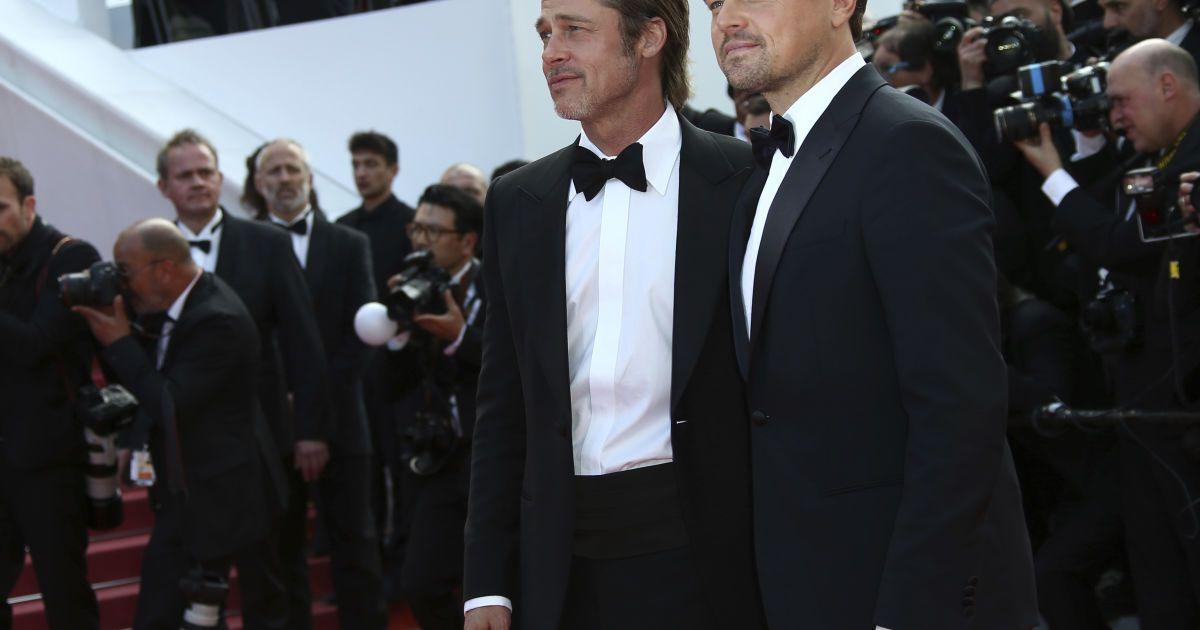 Брэд Питт и Леонардо Ди Каприо @ Associated Press