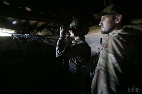 Терористи відкривали вогонь 29 разів, двоє бійців ООС поранені