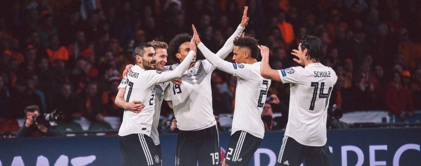 С одним нападающим. Сборная Германии объявила состав на ближайшие матчи отбора к Евро-2020