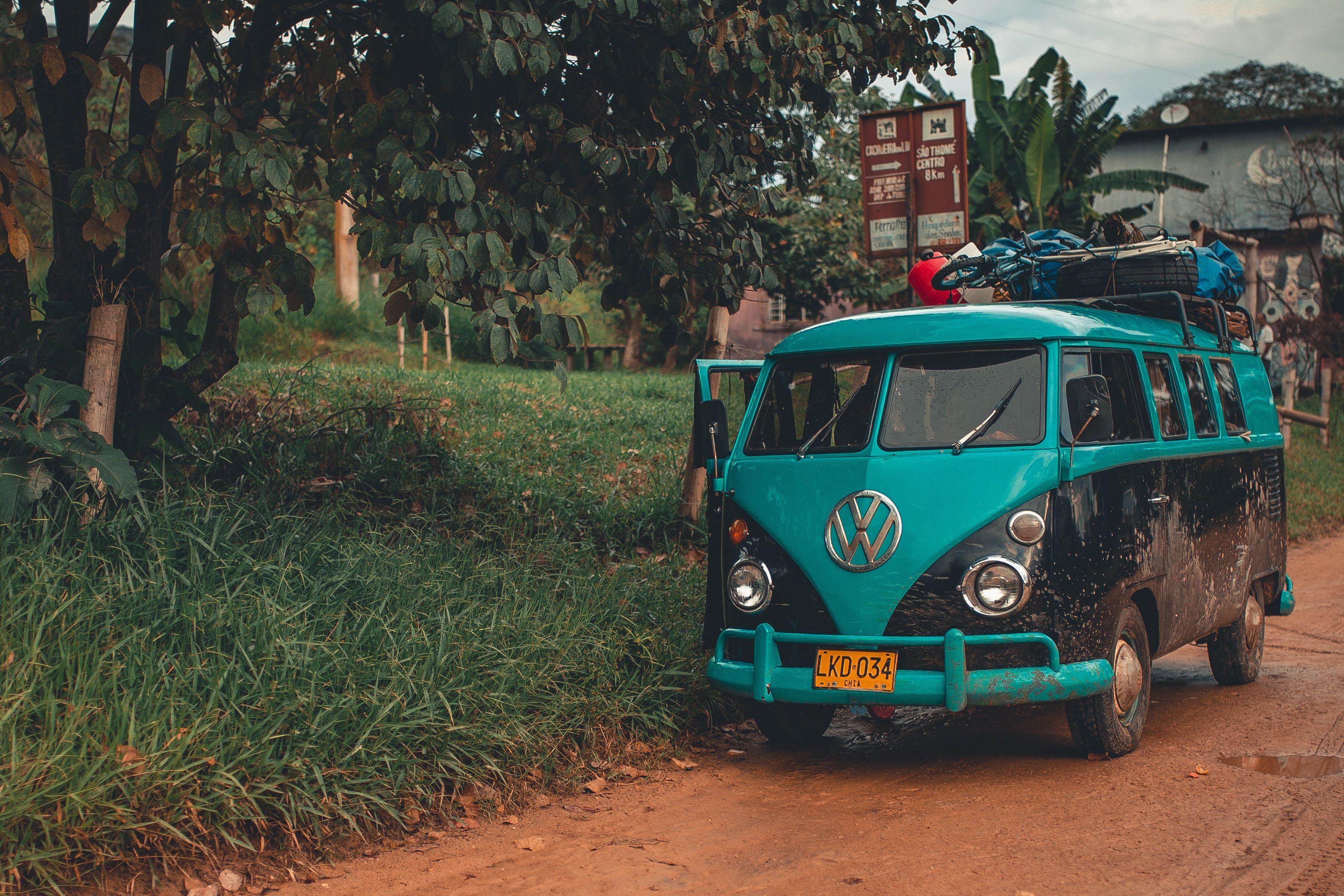 Мінібус Volkswagen, кемпер, подорож,