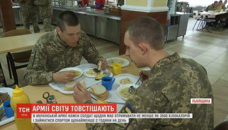 Сколько калорий употребляют украинские военные и насколько их пищаполезная