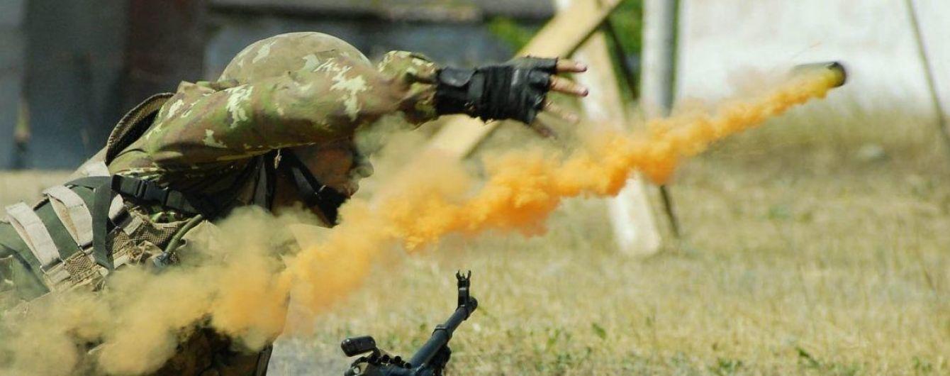 На арсенал Военно-морских сил бросили дымовую шашку