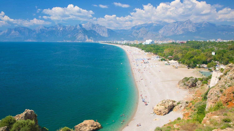 Коньяалты Анталия Турция пляж