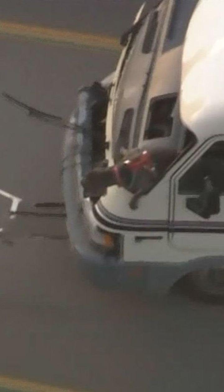 Погоня с полицией: американка похитила передвижной дом с собакой