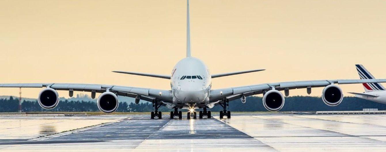 Air France прекратит полеты в Украину в зимний период по маршруту Париж-Киев