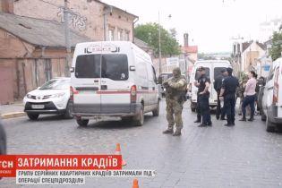 В Черновцах задержали группу серийных квартирных воров