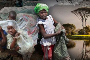 Африканський бій із пластиком