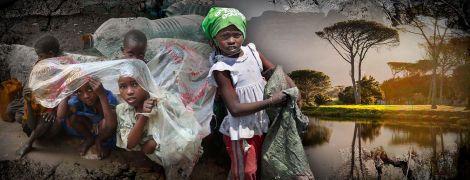 Африканский бой с пластиком