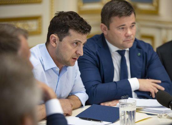 Активісти подали до суду позов проти Зеленського через призначення Богдана головою АП