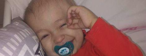 Нужна помощь: Почку крохотного Максима атаковал рак