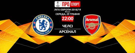 Челсі - Арсенал. Онлайн-трансляція фіналу Ліги Європи-2019
