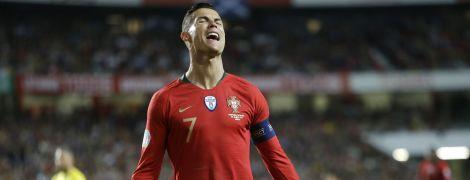 Роналду вошел в заявку сборной Португалии на финальный этап Лиги Наций
