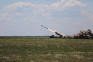 """Украинские военные испытали ракетные комплексы """"Вильха"""""""