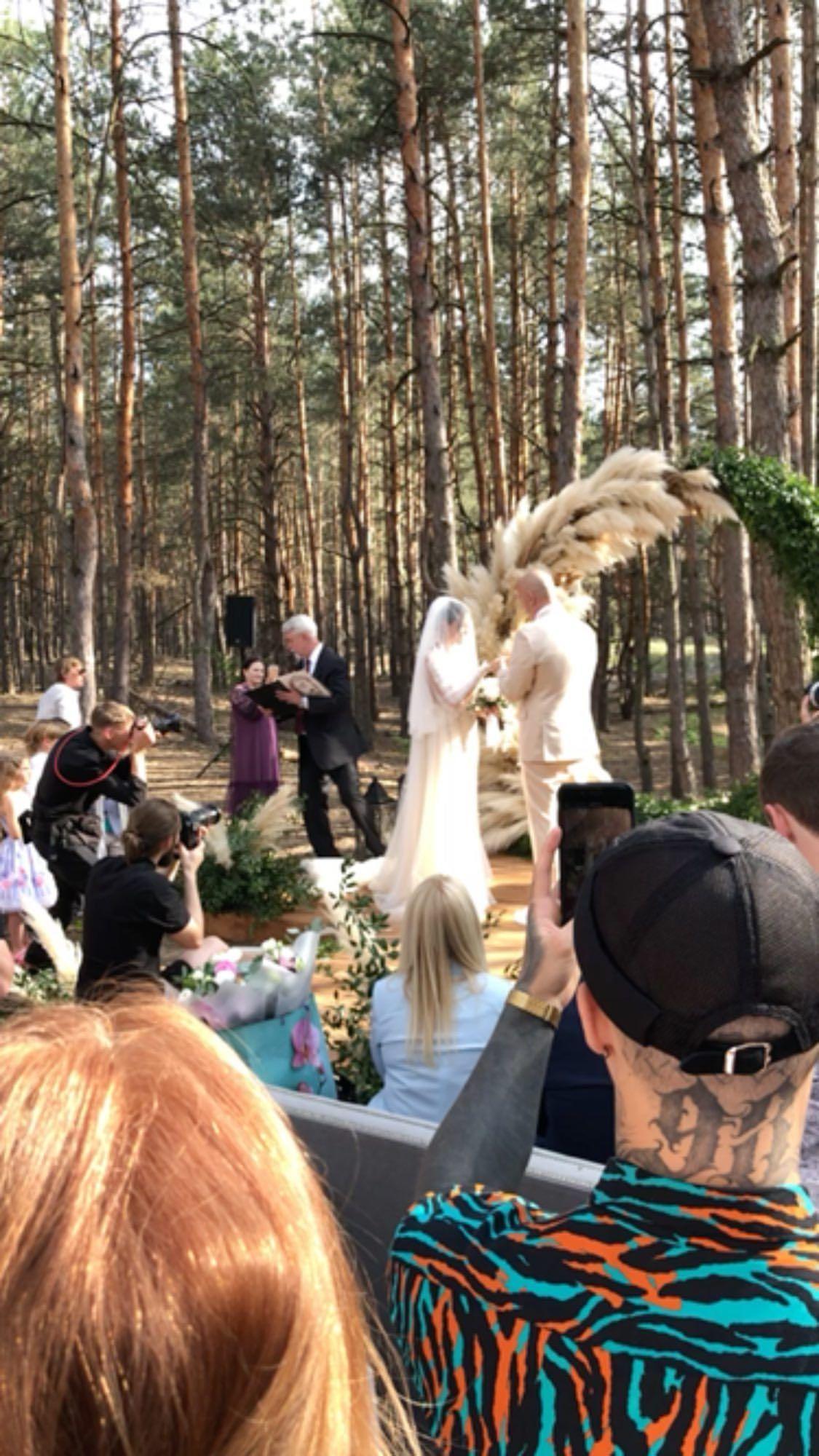 Церемонія весілля Потапа і Насті Каменських_8