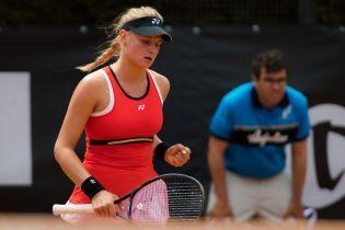 Ястремская вышла в полуфинал турнира в Страсбурге, Костюк вылетела от именитой француженки