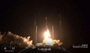SpaceX запустила на орбіту нову групу інтернет-супутників Starlink