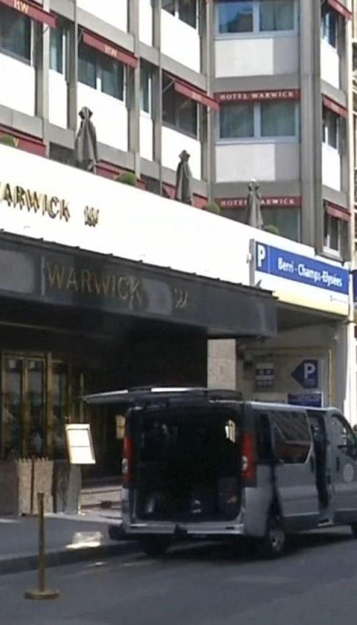 В парижском отеле у гвинейской политической деятельницы украли бриллиант