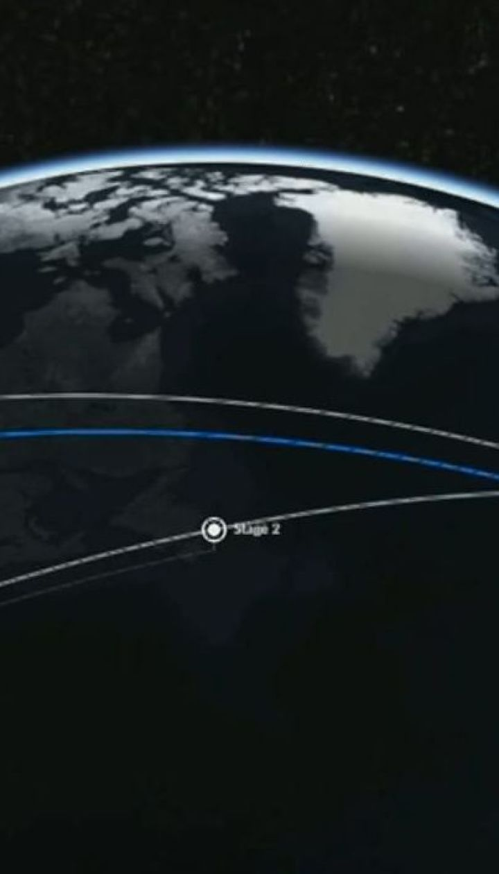 Компанія Space X запустила ракету Falcon з 60 супутниками на борту