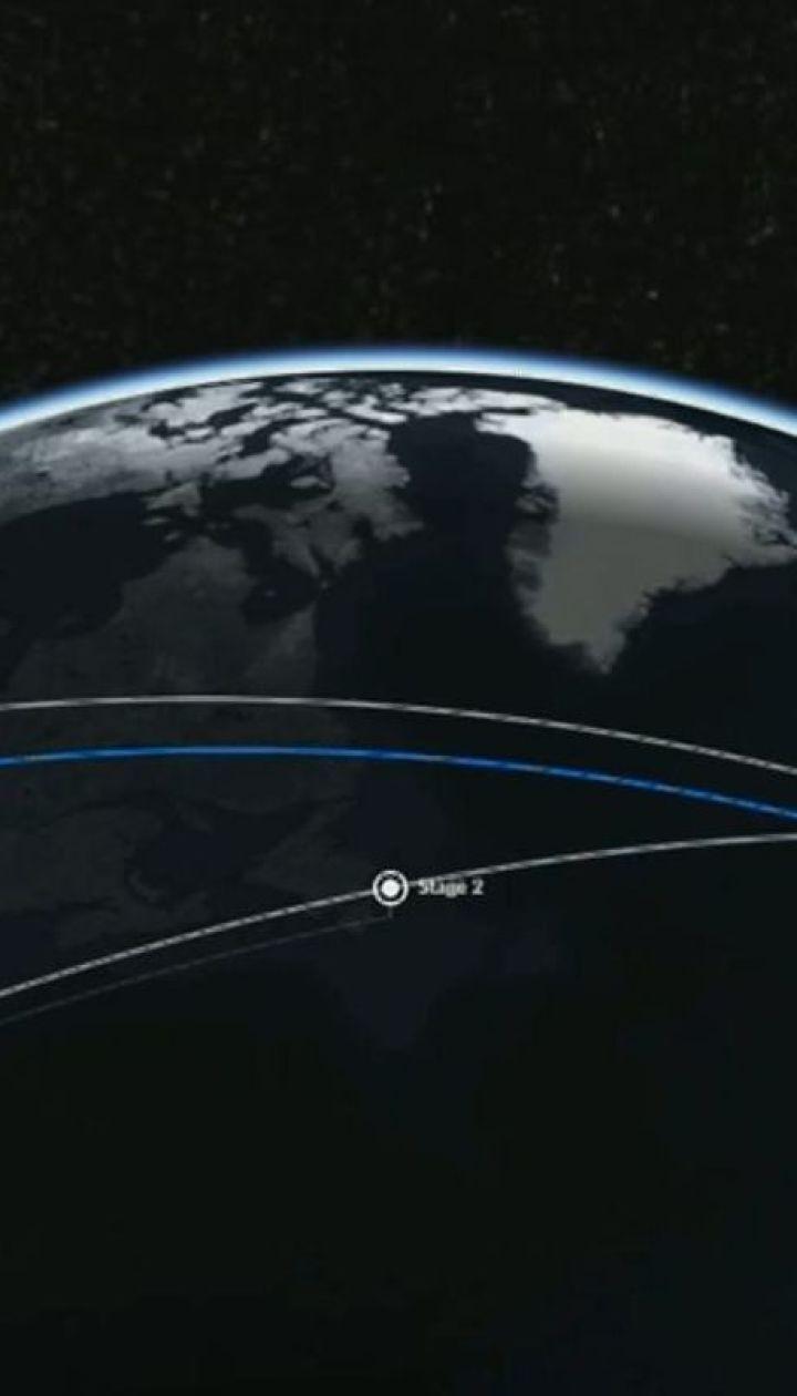 Компания Space X запустила ракету Falcon с 60 спутниками на борту