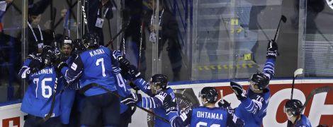 Сенсаційна Фінляндія та виліт США. Визначилися півфінальні пари Чемпіонату світу з хокею