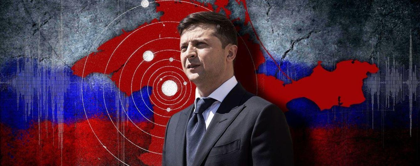"""Тень крымского """"референдума"""" на президенте Зеленском"""