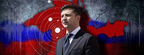 """Тінь кримського """"референдуму"""" на президенті Зеленському"""