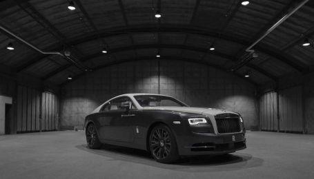 Rolls-Royce випустив спецмодель із зоряним небом у салоні