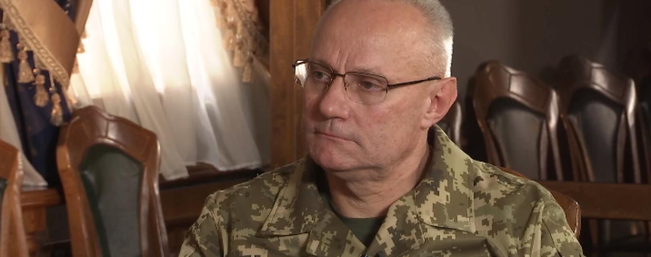 Начальник Генштабу не бачить мети Росії розгортати зараз вторгнення до України