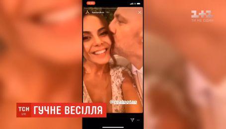 Песня от Кароль и танцы экс-жены Горовой: как звезды гуляли на свадьбе Потапа и Насти