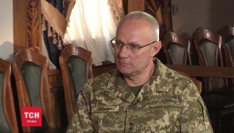 Интервью с новым главой Генштаба Русланом Хомчаком