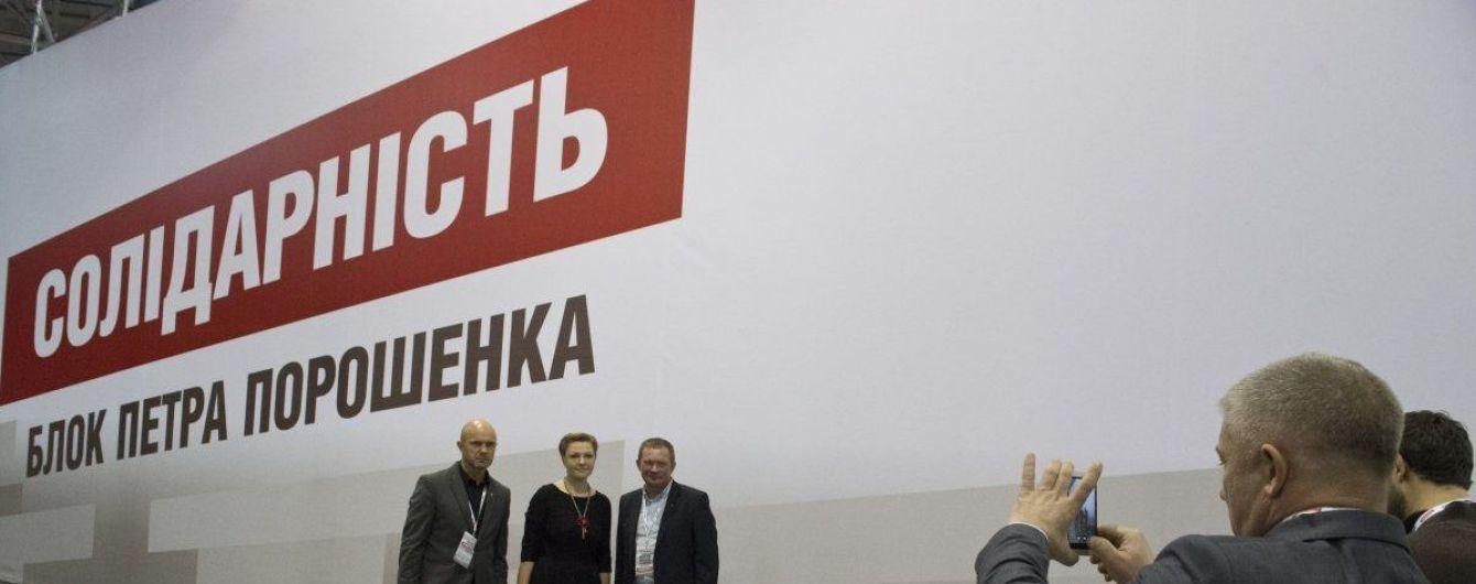 Партию Порошенко переименовали