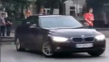 У Житомирі лихача на BMW затримали завдяки відео у Мережі
