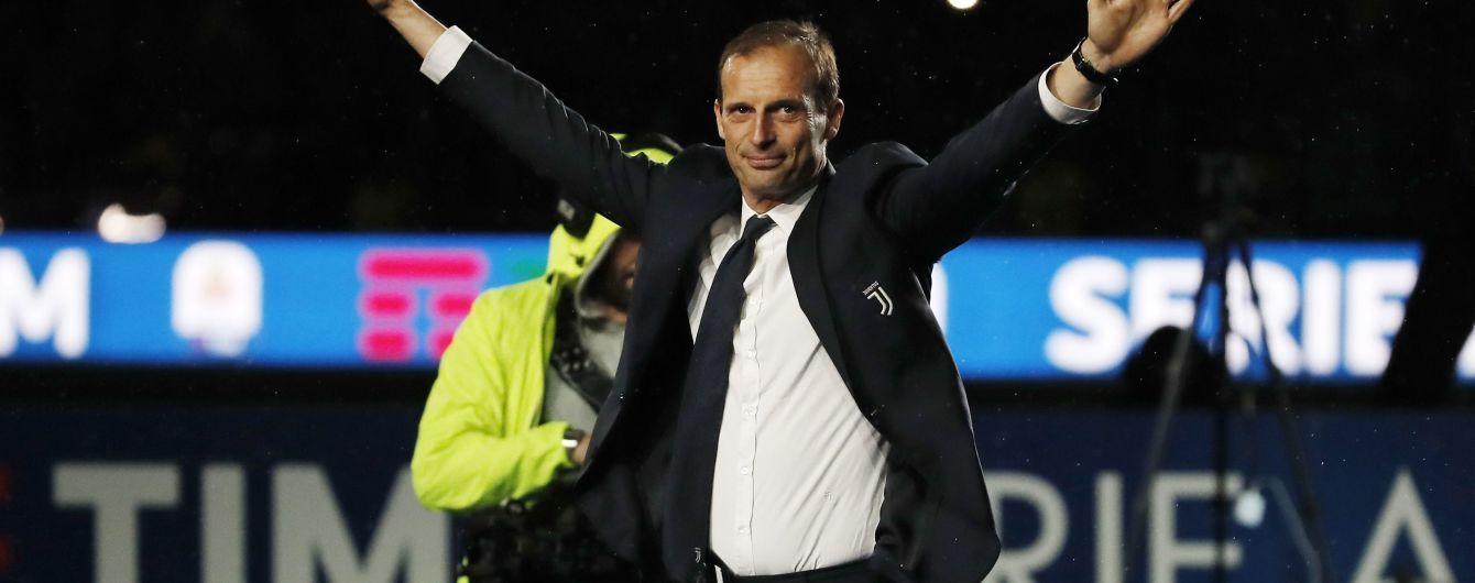 """Аллегрі натякнув, хто стане новим тренером """"Ювентуса"""""""