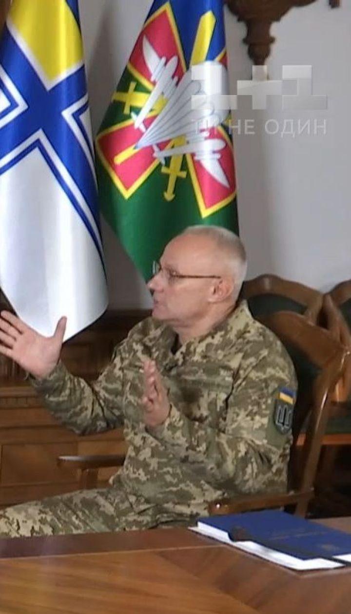 Эксклюзивное интервью: Хомчак заявил, что повернет службу лицом к солдату