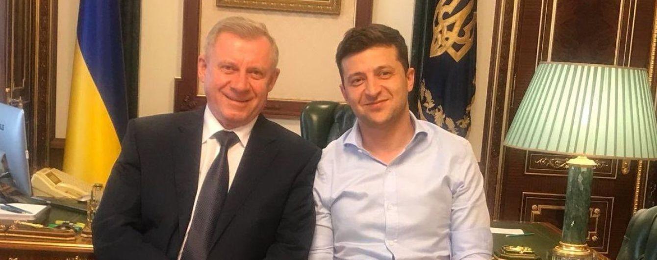 Зеленский встретился с главой Нацбанка. О чем говорили