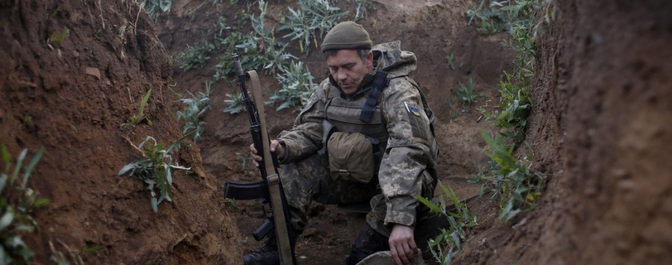 Ситуация на Донбассе: боевики дважды обстреливали украинские позиции
