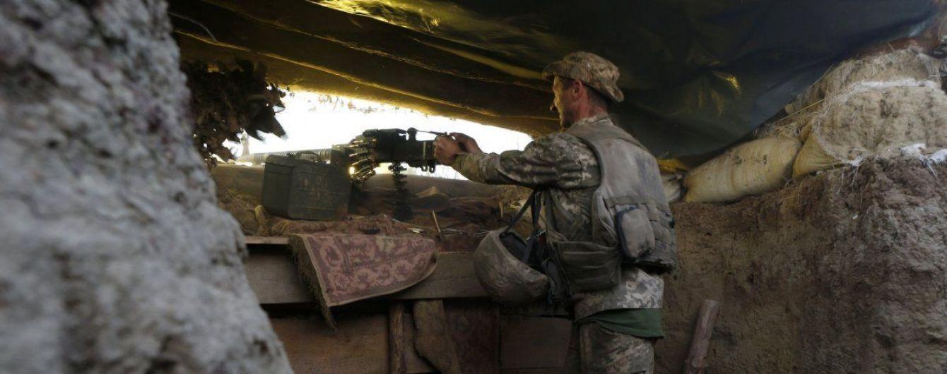 Во время обстрелов был ранен украинский боец. Хроника ООС