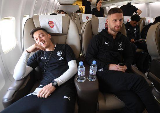 """""""Арсенал"""" вирушив до Баку на фінал Ліги Європи"""