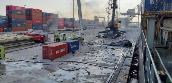 У порту Таїланду стався вибух і пожежа, постраждали 50 осіб