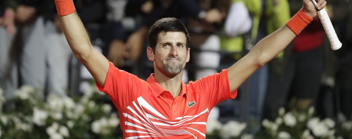 Джокович пробил мячом пол на Roland Garros и извинился за свою выходку