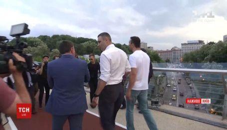 Кличко офіційно відкрив новий міст до Дня Києва