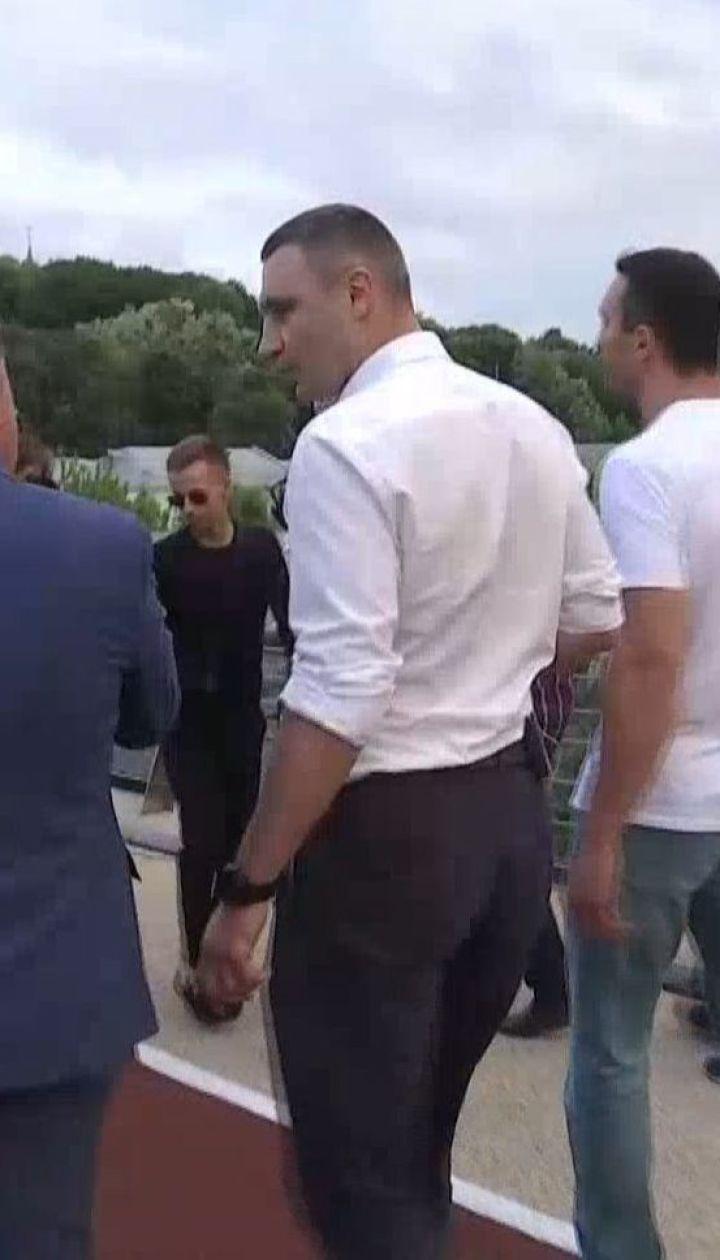 Кличко официально открыл новый мост ко Дню Киева