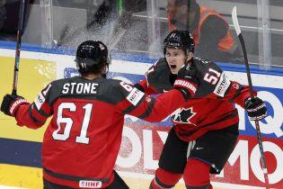 Канада розгромила Чехію і пробилася до фіналу Чемпіонату світу з хокею
