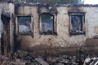 Бойовики з гранатомета обстріляли населений пункт на Донеччині
