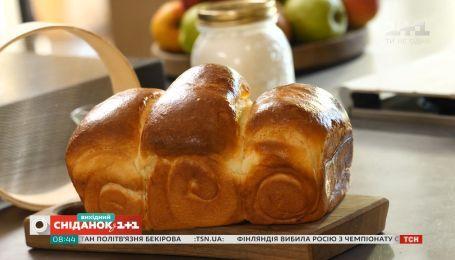 Молочный хлеб - Сладкое воскресенье