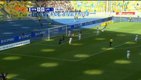 Динамо - Львів - 0:1. Відео голу Альваро