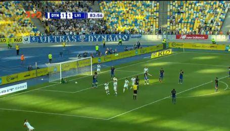 Динамо - Львов - 2:1. Видео гола Бурды