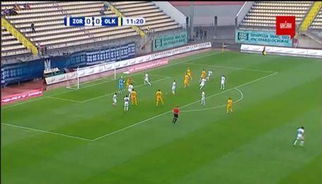 Заря - Александрия - 0:1. Видео гола Довгого